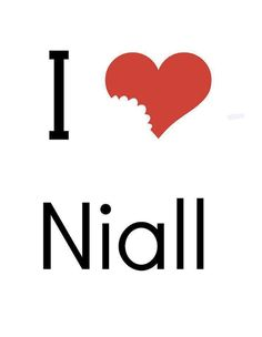 Niall ate my heart!!! .
