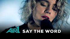 "Check out this ""Say the Word"" performance video by Hillsong United at Air1. #hillsongunited"