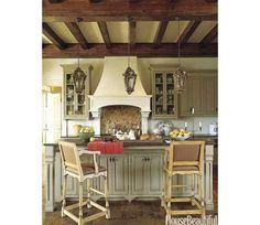 Fall Color Schemes - Kitchen - Home and Garden Design Ideas