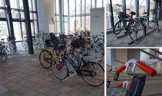 De nieuwe fietsparkeergarage van RET in Capelle ad IJssel heeft fietsenrekken voor stadsfietsen, maar ook fietsstandaards speciaal voor kratfiets, scooter en e-bike. Falco, specialist in fietsparkeren! Bicycle, Bike, Bicycle Kick, Bicycles