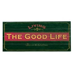 """Paneled birch wood wall decor with a weathered typographic motif.     Product: Wall art Construction Material: Birch wood Color: Multi Features: Each sign comes complete with sawtooth hangers and is ready to hang out of the box Dimensions: 10"""" H x 24"""" W  Note: Indoor use only  Cleaning and Care: Wipe with damp cloth"""