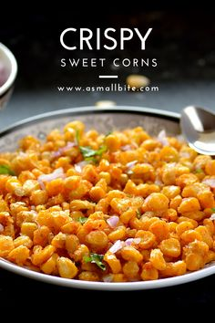 I love to eat at BBQ nation for the crispy corn kernels they serve. It took 2 to 3 trials for me to get this crispy corn recipe perfect which i have shared. Mango Recipes, Corn Recipes, Indian Food Recipes, Vegetarian Recipes, Cooking Recipes, Gujarati Recipes, Indian Snacks, Cooking Tips, Mix Veg Recipe