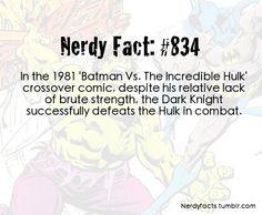 The Dark Knight vs The Hulk: Batman won!