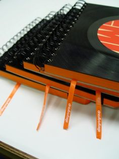books made from lp record albums