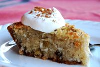 Bojo Cake - Coconut and Cassava Cake from Suriname: Bojo - Coconut and Cassava Cake