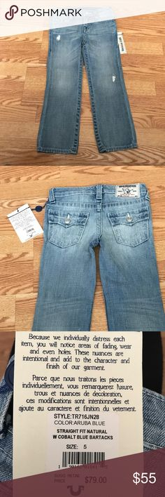 Authentic Toddler True Religion Jeans. Boys size 5 Authentic Toddler True Religion Jeans. Boys size 5 True Religion Bottoms Jeans