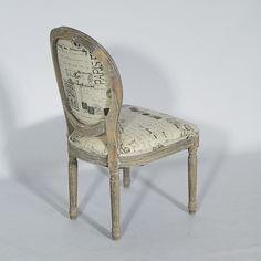 chaise médaillon avec structure en bois | À acheter | pinterest - Chaise Medaillon Pas Cher