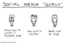 Social Media Gurus (humor)