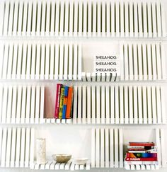 Wonderful Piano Shelf by Sebastian Errazuriz