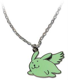 Hetalia Necklace Flying Mint Bunny