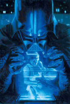 'Star Wars #13' cover art by Hugh Fleming