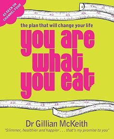 Gillian McKeith  you are what you eat. Changed my way of eating and perception of food.