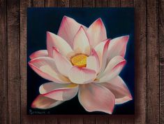 Yoga art Lotus flower oil painting on canvas Svadhisthana lotos Gift for yoga for Meditation Practice Harmony Enlightenment Magic Lotus art Lotus Flower Wallpaper, Lotus Flower Art, Lotus Art, Flower Oil, Lotus Flower Paintings, Lotus Painting, Oil Painting Flowers, Small Canvas Paintings, Oil Painting On Canvas