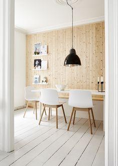 Bolig-inspiration til indretning med træ
