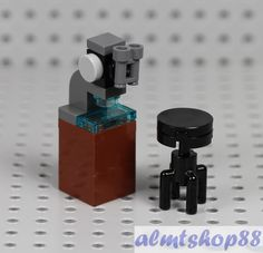 NEW LEGO MICROSCOPE SET Erlenmeyer Flask Table minifig stem science 21312 nasa