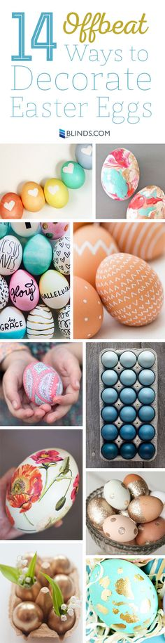 There are so many more Easter egg options than basic dip dyeing.