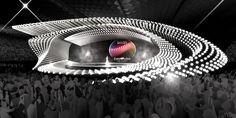 Eurovision 2015 Stage (Good Galleries) Eurovision Song Contest, Eurovision 2017, Event Design, Stage Set Design, Exhibition Booth, Exhibition Stands, Booth Design, Stage Lighting, Concert Stage