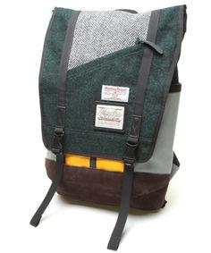 Master-Piece + Harris Tweed backpack