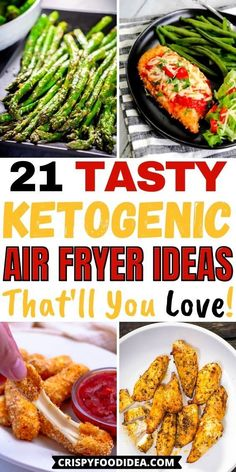 Primal Recipes, Ketogenic Recipes, Ketogenic Diet, Low Carb Recipes, Air Fryer Dinner Recipes, Air Fryer Recipes, Meals Under 200 Calories, Healthy Salmon Recipes, Air Fryer Healthy