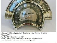 I just came across a speedometer, radio, clock and tail light identification website