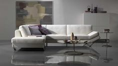 natuzzi editions b694 leather sectional bay pinterest. Black Bedroom Furniture Sets. Home Design Ideas