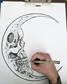 Amazing Moon Tattoos Ideas