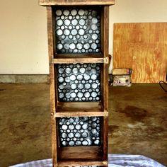 DIY shelf unit! Very fun craft idea!