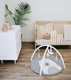 https://bubsandwindy.com/products/plush-baby-play-mat BUBS AND WINDY PLAY MAT. Not to mention, loving the paint color. Looks like Edgecomb Grey from Benjamin Moore. Love that frugal - perfect crib from ikea too! that's what I use, and it is all you'll ever need! palm plus simple little lamp. Can't go wrong
