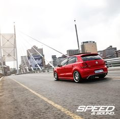 Urban Assault, VW Polo Gti JL audio with Rieger Bodykit