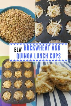 Easy lunchtime recipe with buckwheat and quinoa. Perfect for toddlers or as a BLW finger food.