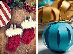 Como fazer decoração de natal em casa - DIY natalino