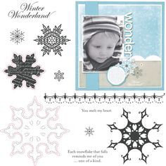 "Close to My Heart My Acrylix Stamp Set Snowflakes  Set of 11  Recommended My Acrylix® Blocks:  1"" × 1"" (Y1000), 2"" × 2"" (Y1003), 3"" × 3"" (Y1006), 2"" × 6½"" (Y1010)    Stamp images outlined in red coordinate with the Cricut® Art Philosophy collection (Z1686).    $17.95"