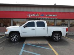 Pro Comp Leveling Kit with a rear block. American Eagle 050 Series Wheels and Atturo Trail Blade Tires. Custom Wheels And Tires, Pro Comp, Lift Kits, Chevy Silverado, Blade, Trail, Eagle, Trucks, American