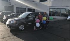 Kendall and Michelle, we hope you enjoy your new 2015 CHRYSLER TOWN & COUNTRY.  Congratulations and best wishes from Landmark Chrysler Jeep Fiat and GARY PATE.
