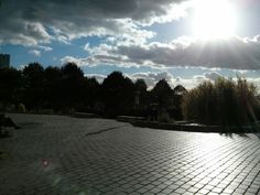 Parc de Belleville - Belleville - octobre 2013
