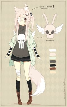 [CLOSED] ADOPTABLE | Casual Pastel Fox by ocono on DeviantArt