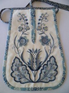 Example of Deerfield embroidery