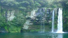 Cheonjiyeon Waterfall, Jeju
