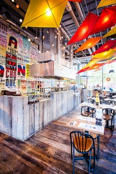 Cabana, Covent Garden, London designed by Michaelis Boyd Associates