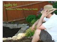 Persistence & Patience: Planting our Garden - Juggling Act Mama