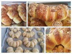 Bakina kuhinja - kifle sa feta sirom (rolls with feta cheese) - YouTube