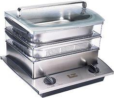 Cuit vapeur électrique - Chef Combi Cooker  Chef Combi Cooker Electric Steamer