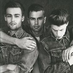 hot damn! Douglas Booth, Theo James and George MacKay