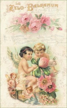 Brooke Kroeger:: Artistic Inspirations    Brooke shares pretty vintage cards as well as backgrounds on her blog.