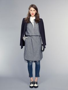 A look from Banana Republic's fall 2015 collection. Photo: Banana Republic