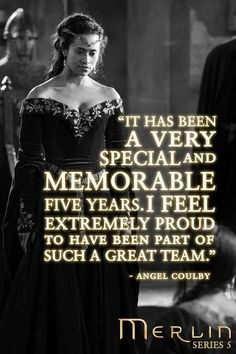 Gwen: Angel Coulby's Goodbye