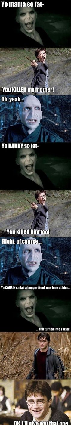 Harry Potter - Parody Scene... LMAO!!!