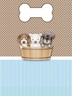 Kit para impressão Cachorrinhos M&A