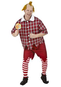 Plus Size Red Munchkin Costume - Plus Size Wizard of Oz Costumes