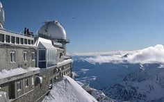 Pic Du Midi, France  ... Fantastic place regardless of season. You can spend the night there too and watch the most incredible sunrises. Short drive from Lourdes.